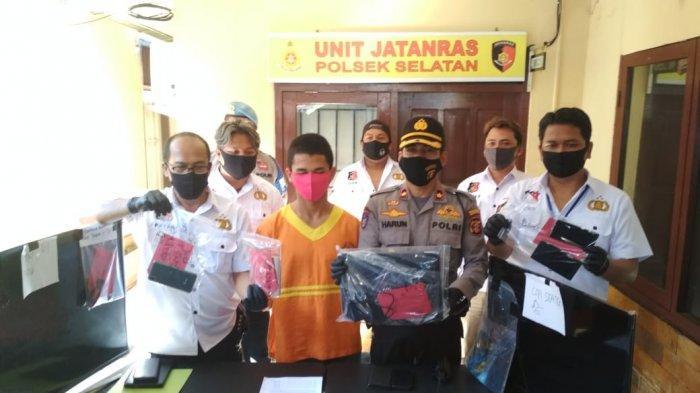 Bobol Rumah dan Curi Barang Elektronik di 11 TKP, Pria Pengangguran di Balikpapan Ini Dibekuk Polisi