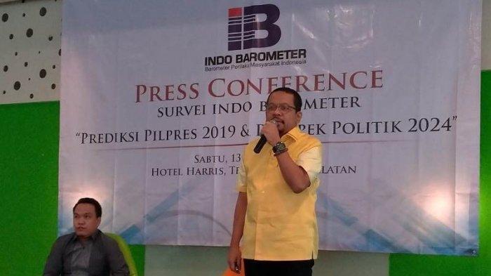 Lengkap, 3 Skenario Pilpres 2024 Mengacu Survei Litbang Kompas & Indo Barometer, Jokowi 3 Periode?