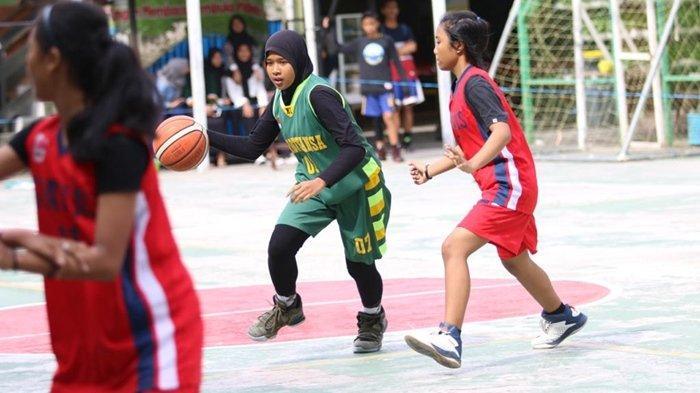 Milad, MTs Negeri 1 Balikpapan Kembali Gelar Turnamen Bola Basket Madstansa Cup