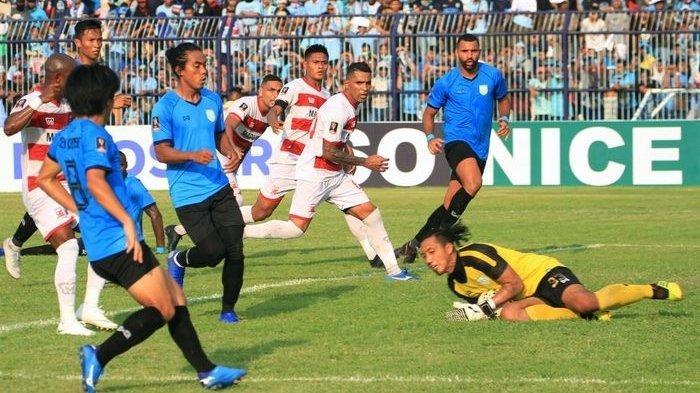 Hasil Liga 1 2019 - Pesta Gol, Madura United Taklukkan Persela Lamongan