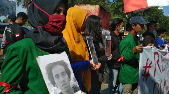 BREAKING NEWS Mahasiswa Kali Ini Demonstrasi di DPRD Balikpapan Begini Isi Aspirasi yang Disampaikan