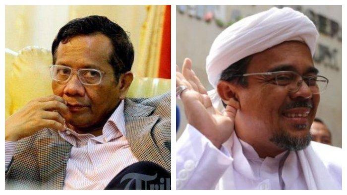 Mahfud MD Bongkar Salinan Kertas yang Dipegang Rizieq Shihab, Ternyata Bukan Surat Pencekalan