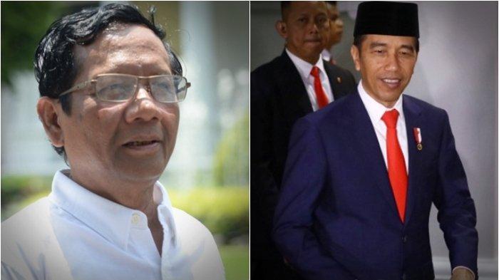 Di Depan Jokowi & Media, Mahfud MD Sebut Pernyataan Berbeda Soal Perppu KPK, Ini Kata Eks Staff JK