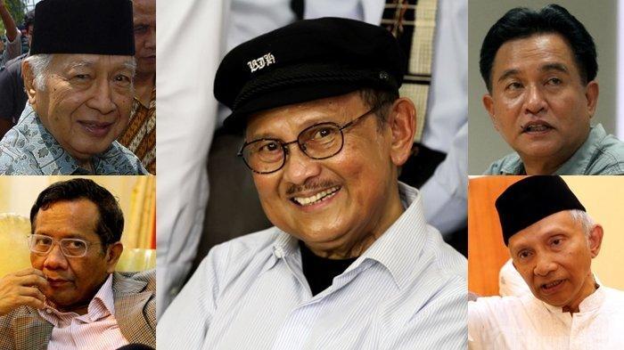 Mahfud MD Ungkap Cerita Masa Lalu BJ Habibie, dari Kondisi Soeharto, Sikap Yusril, hingga Amien Rais