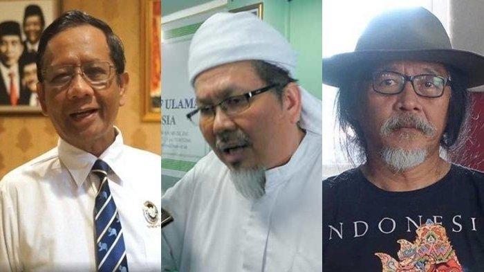 Ucapan Duka Mahfud MD untuk Ustadz Tengku Zulkarnain Tuai Kecaman, Sudjiwo Tedjo Singgung Soal Adab