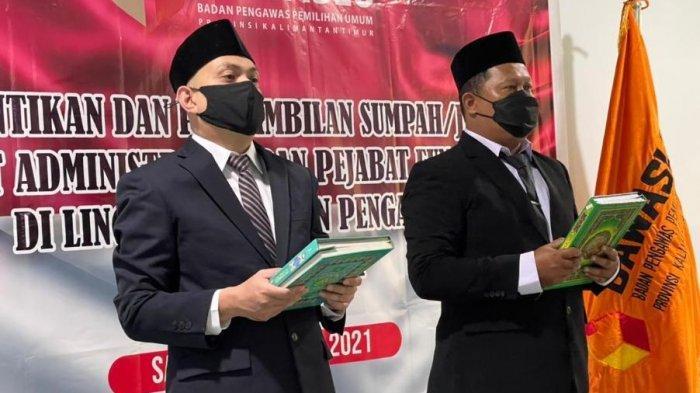 Mahrus Irmadi Mantan Lurah Sempaja Barat, Jabat Kepala Sekretariat Bawaslu Samarinda
