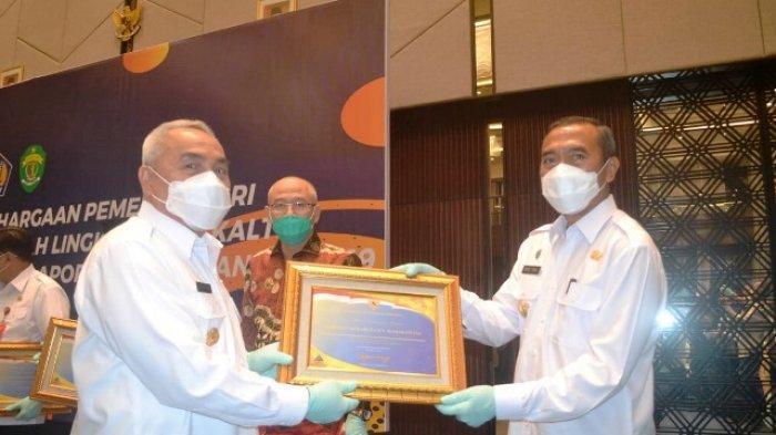 Berhasil Raih Opini WTP, Pemkab Mahulu Terima Penghargaan dari Pemerintah Pusat
