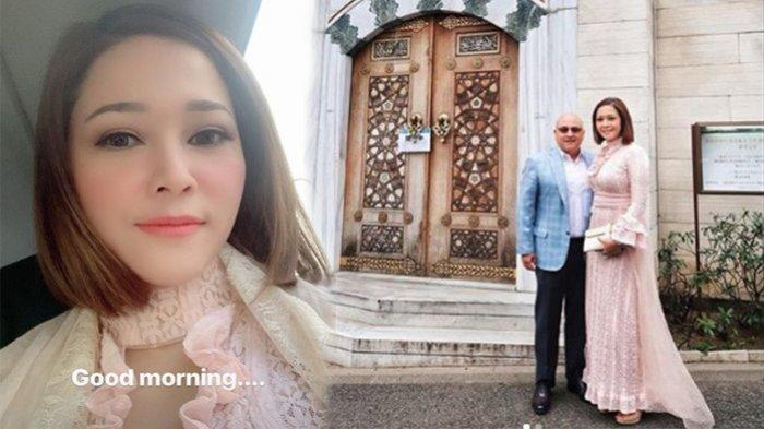 Maia Estianty dan Irwan Mussry Hadiri Pernikahan Syahrini di Tokyo Jepang, Lihat Penampilannya