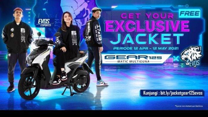 Bulan Penuh Berkah Bersama Yamaha, Beli Yamaha GEAR 125 Dapat Hadiah Langsung Jaket Eksklusif