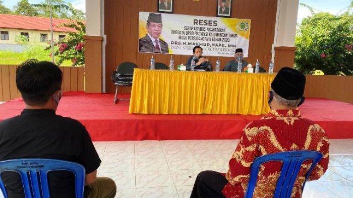 Berharap Dukungan Pembangunan Berau, Wabup Agus Tamtomo Hadiri Reses Ketua DPRD Kaltim