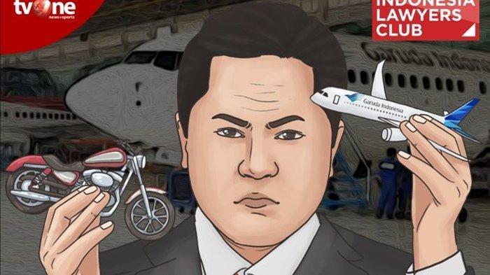 MALAM INI Live Streaming ILC tvOne Bahas Kasus Dirut Garuda, 'Ketika Garuda Diserempet Moge'