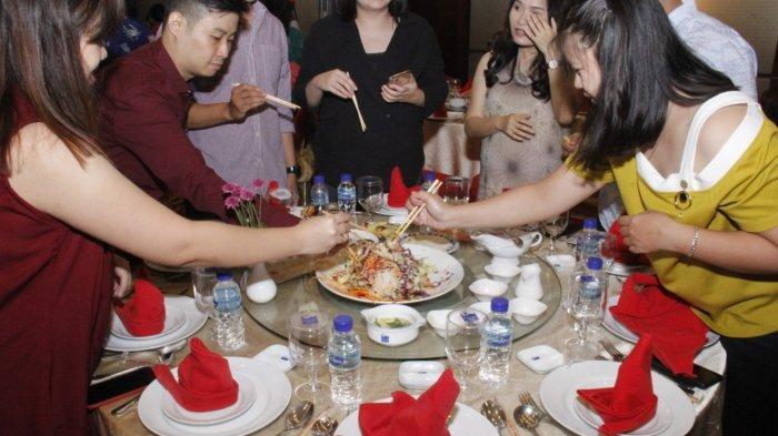 Sukses Gelar Makan Malam Tahun Baru Imlek, Begini Harapan Manajemen Blue Sky Hotel Balikpapan