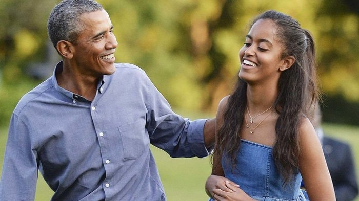 Liburan Musim Panas, Lihat Penampilan 'Berani' Putri Pertama Barack Obama