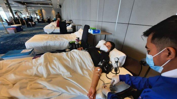 Peringati Hari Jadi yang Pertama, Hotel Mercure Samarinda Gelar Donor Darah, Targetkan 75 Kantong
