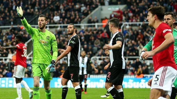 Catatan Buruk Manchester United Usai Tumbang Atas Newcastle, Bikin David De Gea Minta Maaf