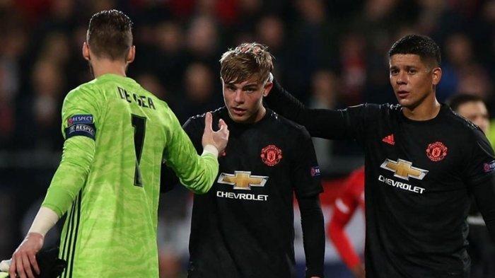 Hasil Liga Europa, Andalkan Pemain Muda, Manchester United Bermain Imbang Lawan AZ Alkmaar