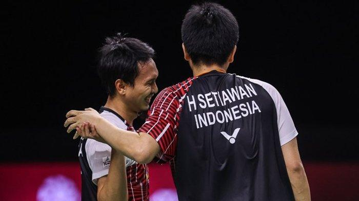 Jadwal Final Bulu Tangkis Hari Ini di TVRI, BWF World Tour Finals Ahsan/Hendra Jumpa Pasangan Taiwan