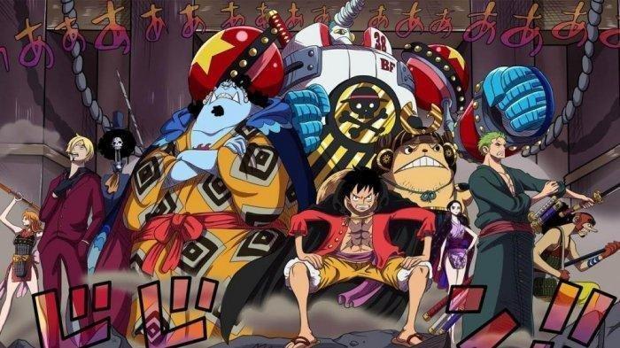 Manga One Piece arc Wano