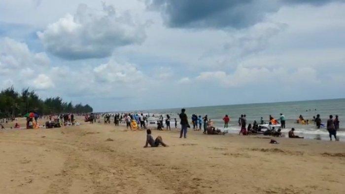 Libur Tahun Baru 2020, Basarnas Kaltimra Tingkatkan Patroli dan Imbau Pengunjung Pantai Manggar