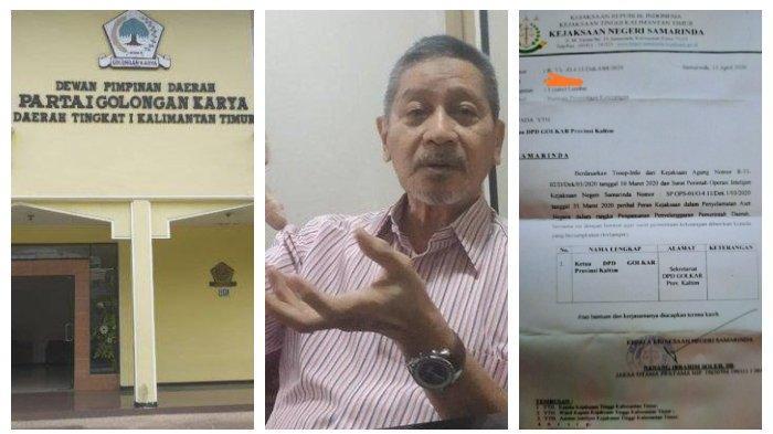 Beredar Surat Permintaan Pemkot Samarinda Terkait Penyelematan Aset Termasuk Gedung Partai Golkar