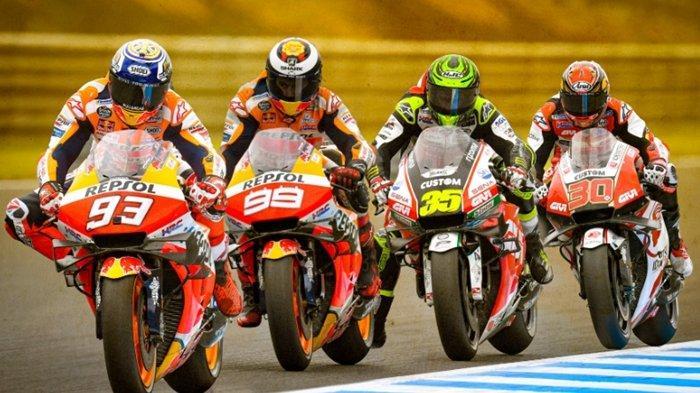 Hasil MotoGP Jepang, Valentino Rossi Jatuh, Marc Marquez Juara dan Patahkan Mitos Pole Position