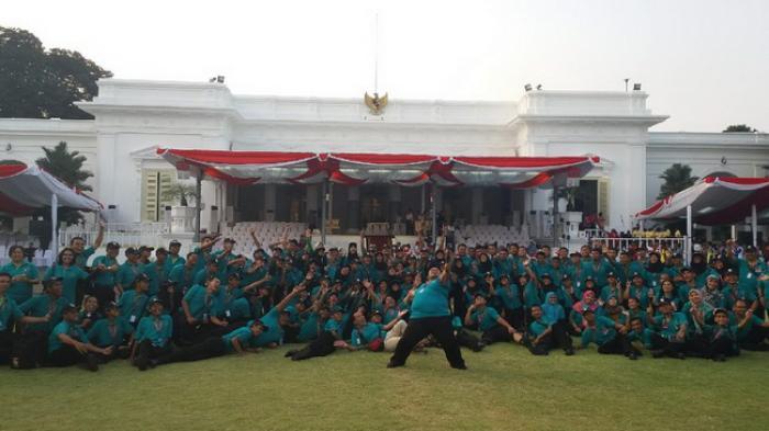 Marching Band WPS-KPC Diminta Jokowi Tampil Lagi di Pontianak