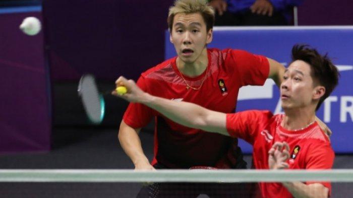 Jadwal dan Link Live Streaming Badminton Fuzhou China Open 2019 Misi Marcus/Kevin Pertahankan Gelar