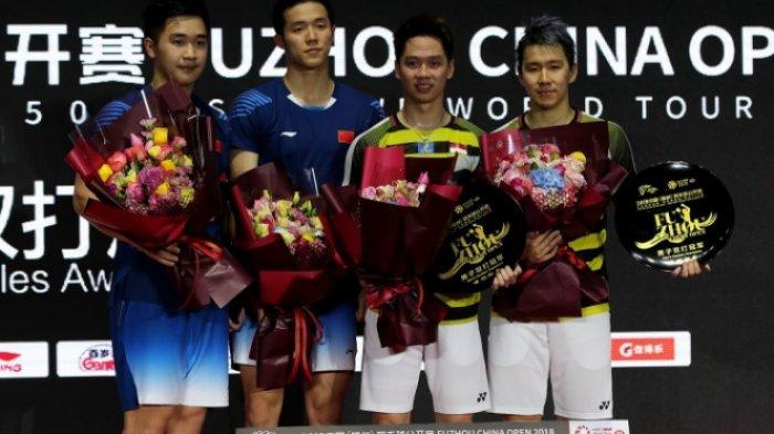 SEJARAH Marcus/Kevin Juara Fuzhou China Open 2019 Raih Gelar 4x Berturut-turut di Turnamen yang Sama