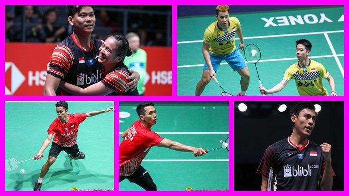 Jadwal Live & Link Live Streaming Badminton Hari Ini French Open 2019, Laga Berat 5 Wakil Indonesia