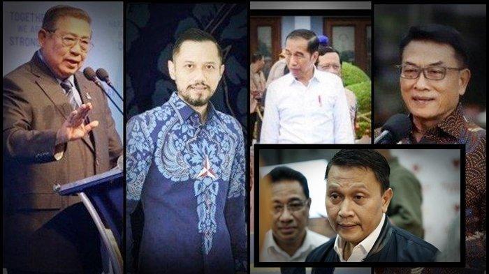 Diam Jokowi Setuju Moeldoko Rebut Partai Demokrat, Muncul Bahasa 3 Periode, Politisi PKS: Berbahaya!