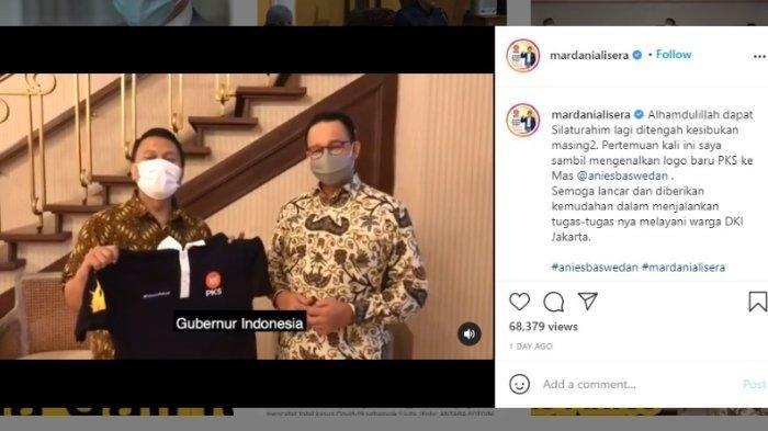 Hitung-hitungan Pilkada DKI Anies Baswedan vs Risma, Siapa Untung, Mardani Sebut Gubernur Indonesia