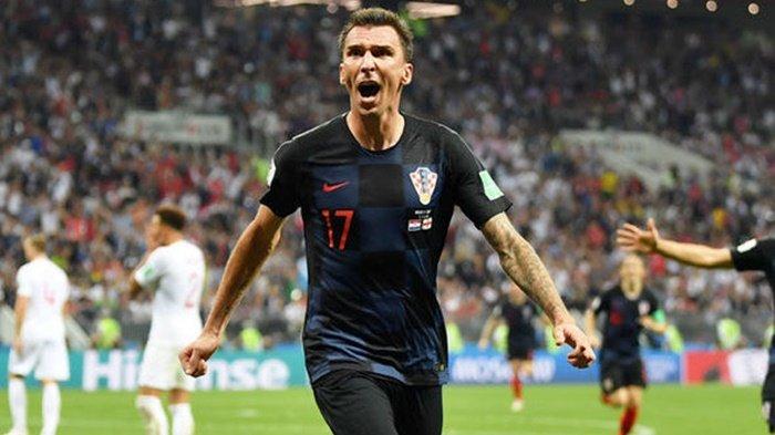 Mario Mandzukic Bawa Kroasia Menuju Kemenangan, Ini 5 Fakta Menarik saat Melawan Inggris