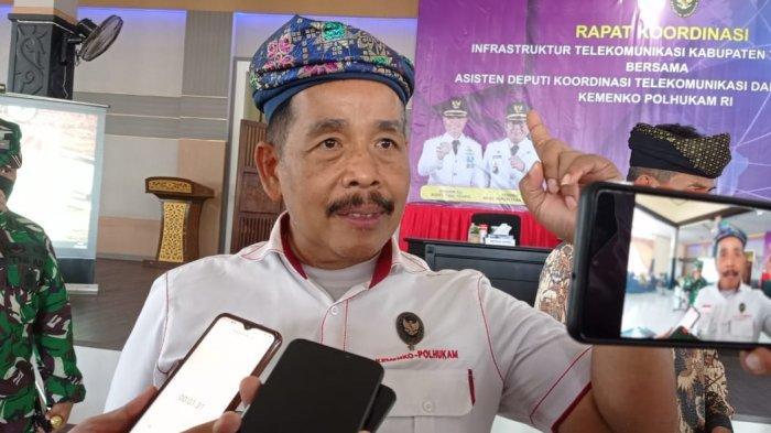 Deputi Bidkor Kominfotur Kemenko Polhukam Kunjungi Tana Tidung, Rakor Infrastruktur Telekomunikasi