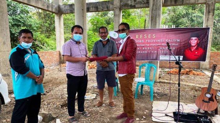 Warga Minta Perbaiki Jalan dan Irigasi, Reses Anggota DPRD Kaltim Marthinus di Kutai Barat