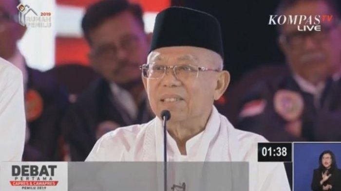 Optimistis Negara akan Maju, Ma'ruf Amin Sindir Soal Indonesia Bubar 2030 di Hadapan Warga NU