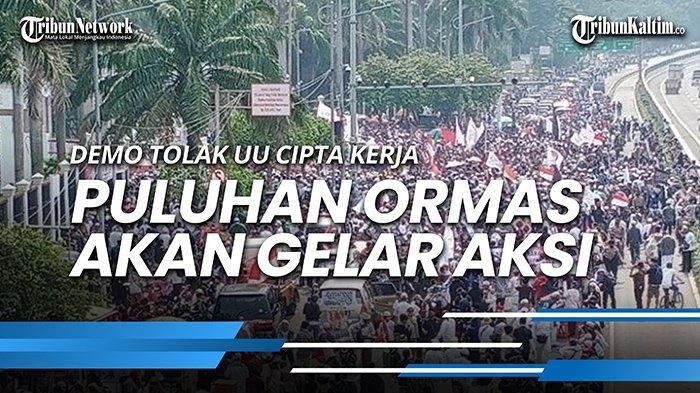 Lengkap, Tuntutan Demo Tolak UU Cipta Kerja GNPF Ulama, PA 212, FPI dan HRS Center, Sindir Komunis