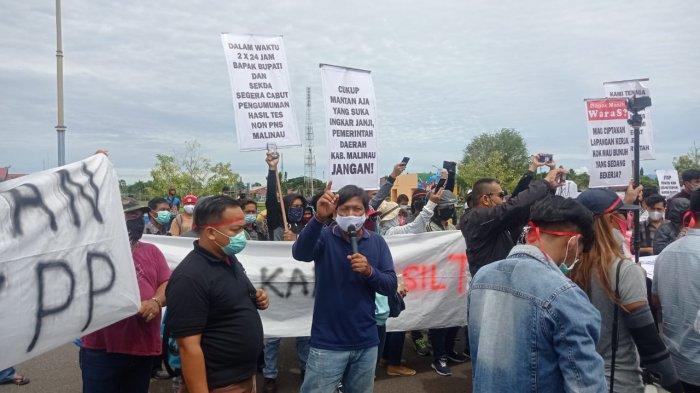 DPRD Malinau Diminta Fasilitasi Aspirasi ke Pemkab, Berikut 4 Tuntutan Massa Aksi