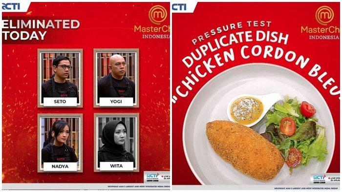 MasterChef Indonesia Season 8, Wita Tereliminasi, Hidangan Thea Tuai Pujian Chef Arnold