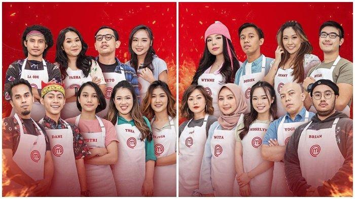 DAFTAR 17 Peserta MasterChef Indonesia yang Tampil Hari Ini 12 Juni 2021, Tantangan Makin Sulit