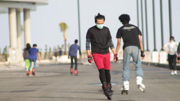 Fasilitas di Plaza Balikpapan Kini Semakin Lengkap, Bisa Jogging dan Sepatu Roda