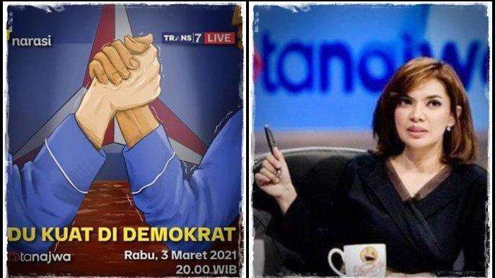 Mata Najwa Malam Ini Kupas Drama Kudeta Demokrat, Singgasana AHY Terancam? Live Streaming Trans 7