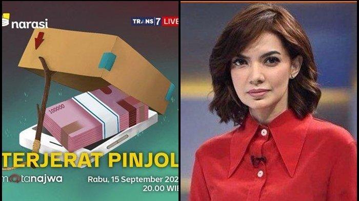 LIVE Mata Najwa Hari Ini, Kesaksian Korban Pinjol Ilegal yang Dituduh Open BO hingga Mau Bunuh Diri