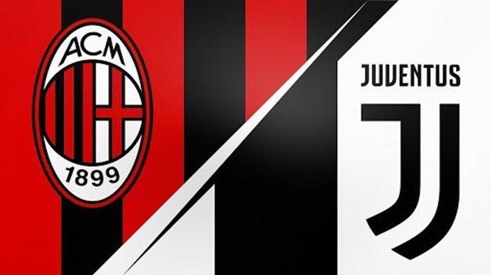 Jadwal Liga Italia Malam Ini, BIG MATCH AC Milan vs Juventus, Link Live Streaming RCTI, Gratis