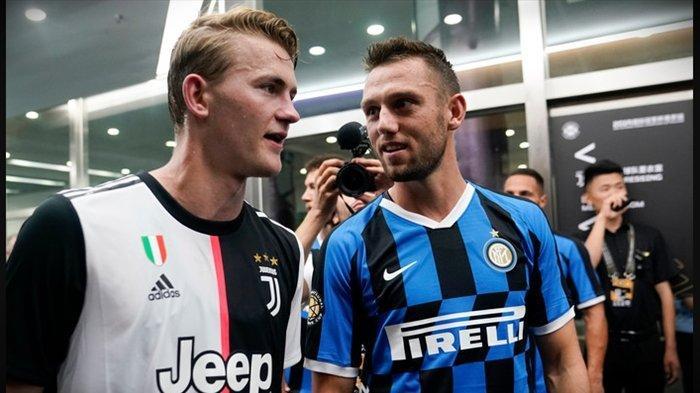 RESMI Jadwal Liga Italia Terbaru, Juventus vs Inter Milan Duel 2 Bek Belanda di Derby d'Italia