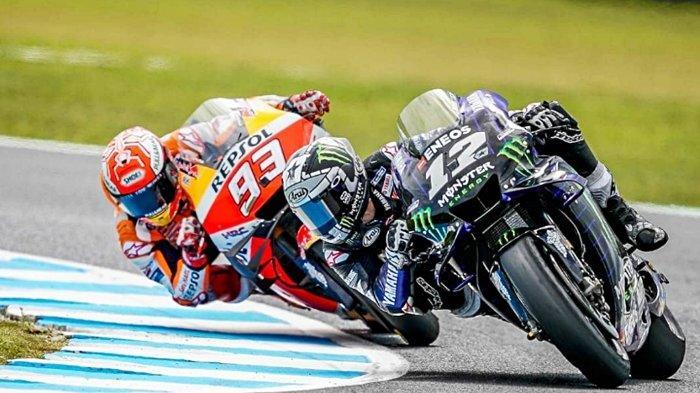 Jadwal MotoGP Malaysia 2019, Jatuh Dramatis Melawan Marc Marquez, Maverick Vinales Fokus ke Sepang