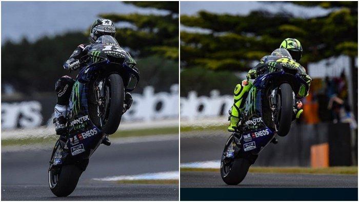 Hasil Kualifikasi MotoGP Australia, Dominasi Yamaha Vinales Terdepan Valentino Rossi Jaga Peluang