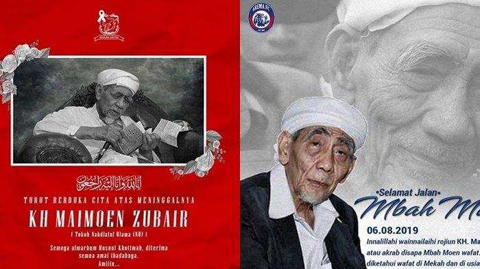 Ribuan Santri Di Banyumas Shalat Gaib Dan Membaca Al Quran 30 Juz Untuk Kh Maimun Zubair Tribun Kaltim