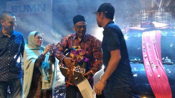 7 Tahun Jadi Nasabah Mbah Supranoto Warga Balikpapan Tak Menyangka Dapat Mobilio Undian Simpedes BRI