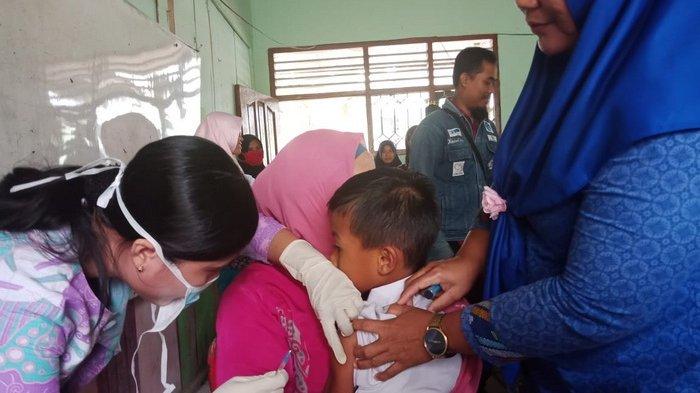 Target 95 Persen Belum Tercapai,Imunisasi Massal Rubella di Kutim akan Diperpanjang