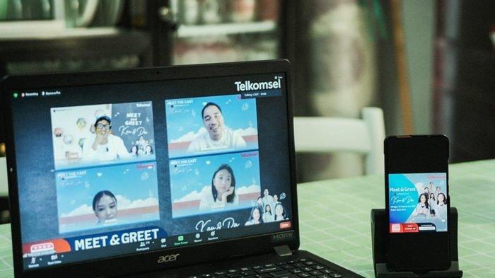 Rilis Film 'Kau dan Dia Movie', Telkomsel Gelar Meet & Greet Bersama Pelanggan Pamasuka